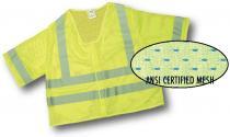 CL3 Lime Mesh Vest 2Sil