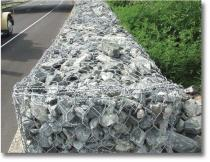 Galvanized PVC Coated Gabion Baskets